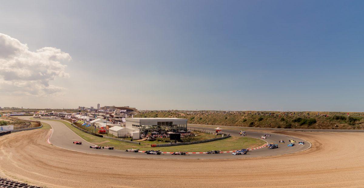 Tarzanbocht circuit zandvoort formule 1 race