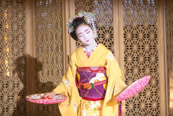 geisha optreden bij organisatiebureau