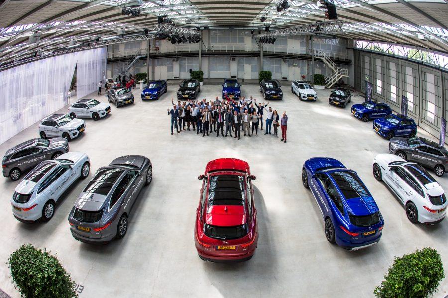 Drive away met de nieuwe Jaguar F Pace