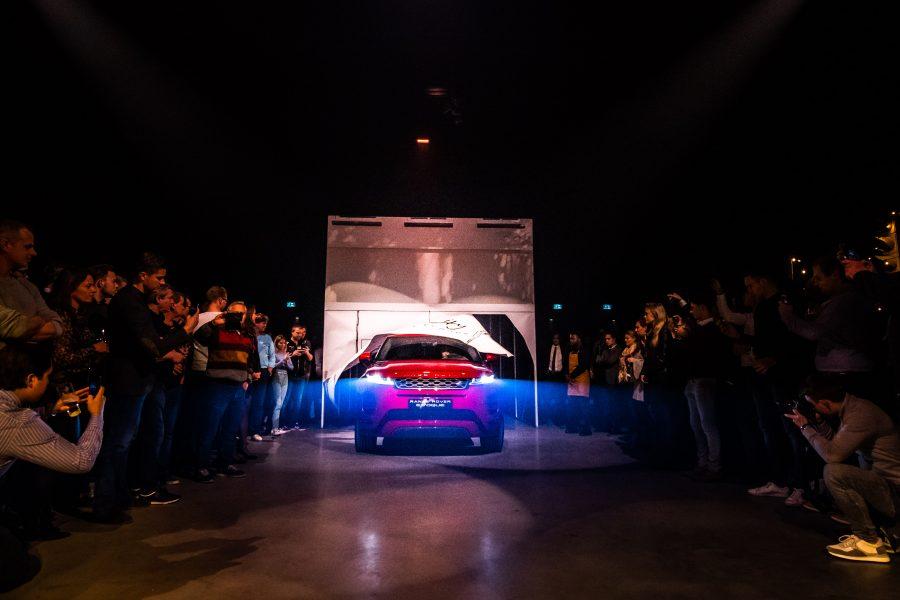 Range Rover Evoque Reveal Amsterdam met show