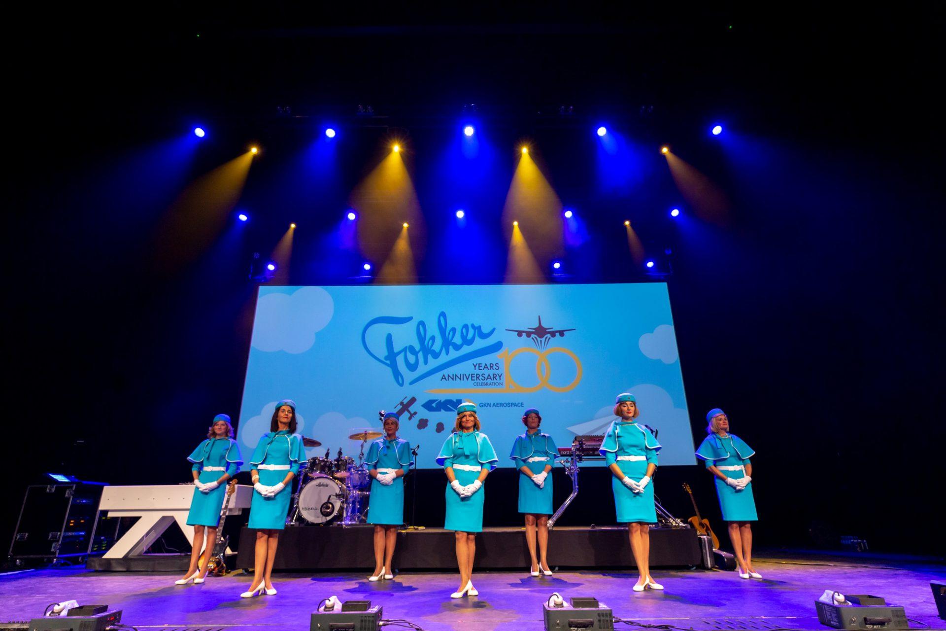 100 jaar Fokker stewardessen